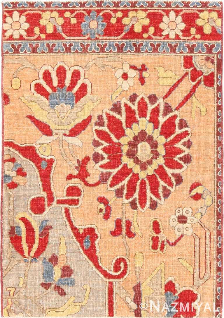 Modern Custom Made Persian Tabriz Rug Sample #60542 by Nazmiyal Antique Rugs
