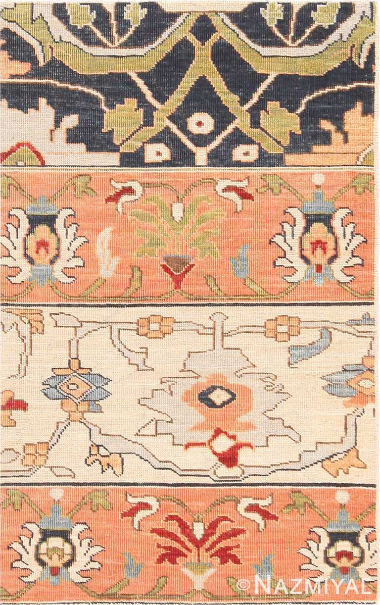 Modern Custom Persian Bidjar Rug Sample #60543 by Nazmiyal Antique Rugs