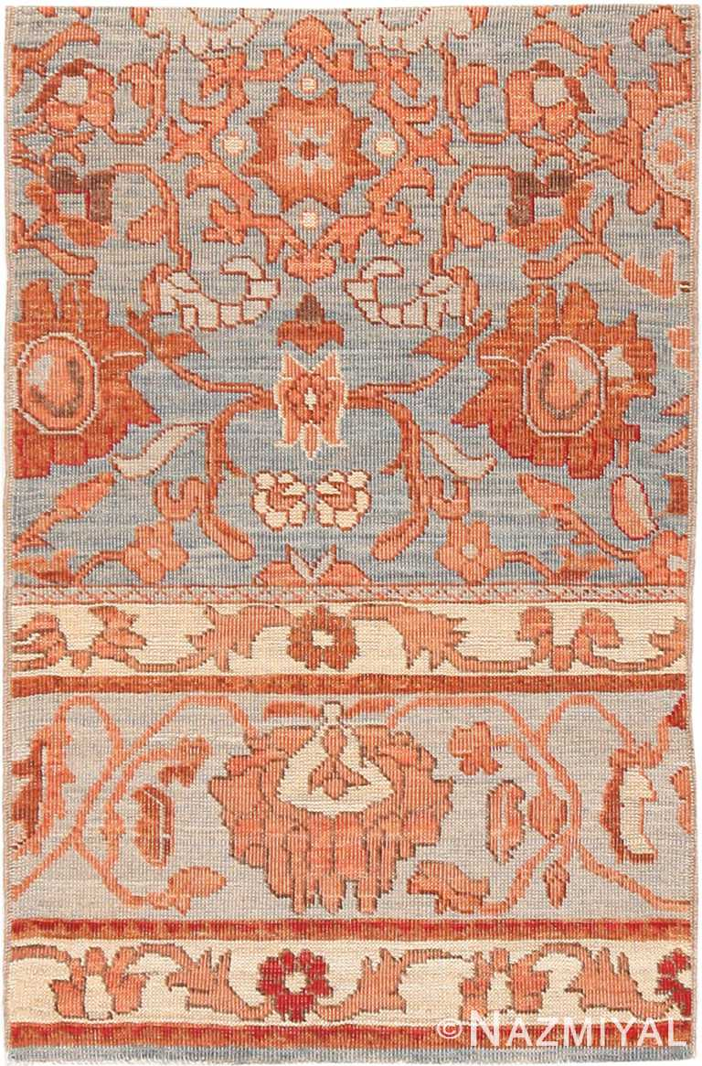 Modern Custom Persian Sultanabad Rug Sample #60536 by Nazmiyal Antique Rugs