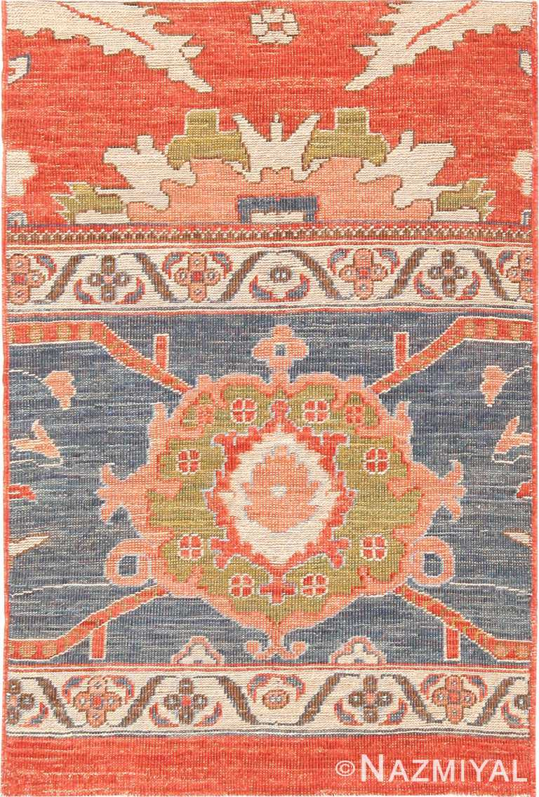 Modern Custom Persian Sultanabad Rug Sample #60550 by Nazmiyal Antique Rugs