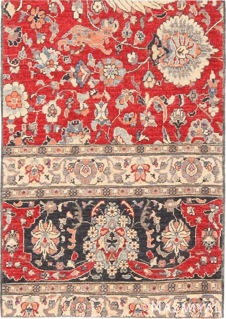 Modern Custom Persian Tehran Area Rug Sample #60551 by Nazmiyal Antique Rugs