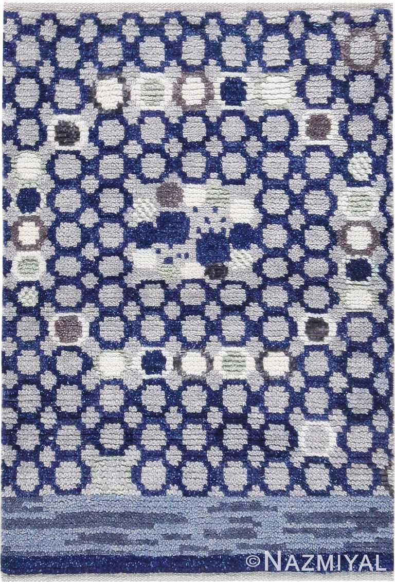 Modern Custom Scandinavian Rug Sample #50748 by Nazmiyal Antique Rugs
