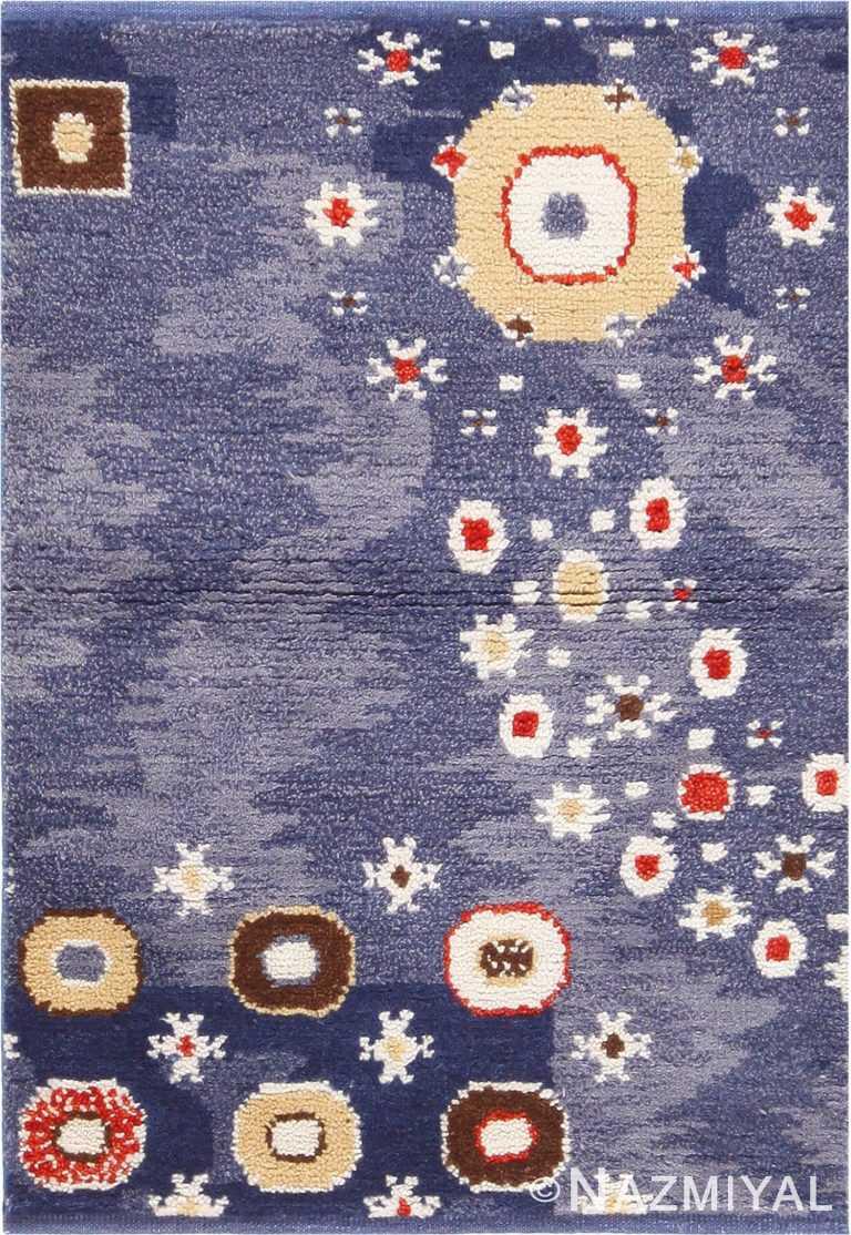 Modern Custom Scandinavian Rug Sample #50749 by Nazmiyal Antique Rugs