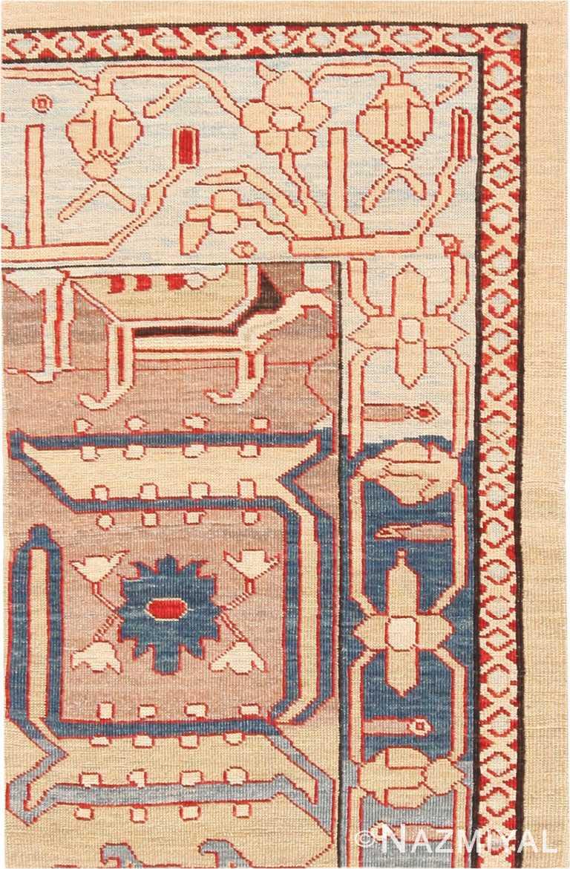 Modern Custom Tribal Persian Bakshaish Rug Sample #60548 by Nazmiyal Antique Rugs
