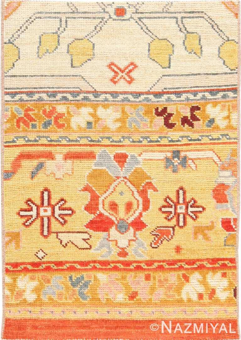 Modern Custom Turkish Oushak Rug Sample #60547 by Nazmiyal Antique Rugs