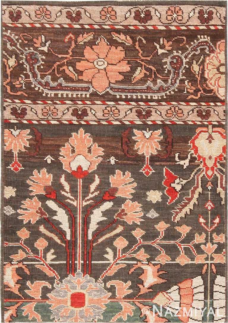 Modern Custom Persian Khorassan Rug Sample #60545 by Nazmiyal Antique Rugs