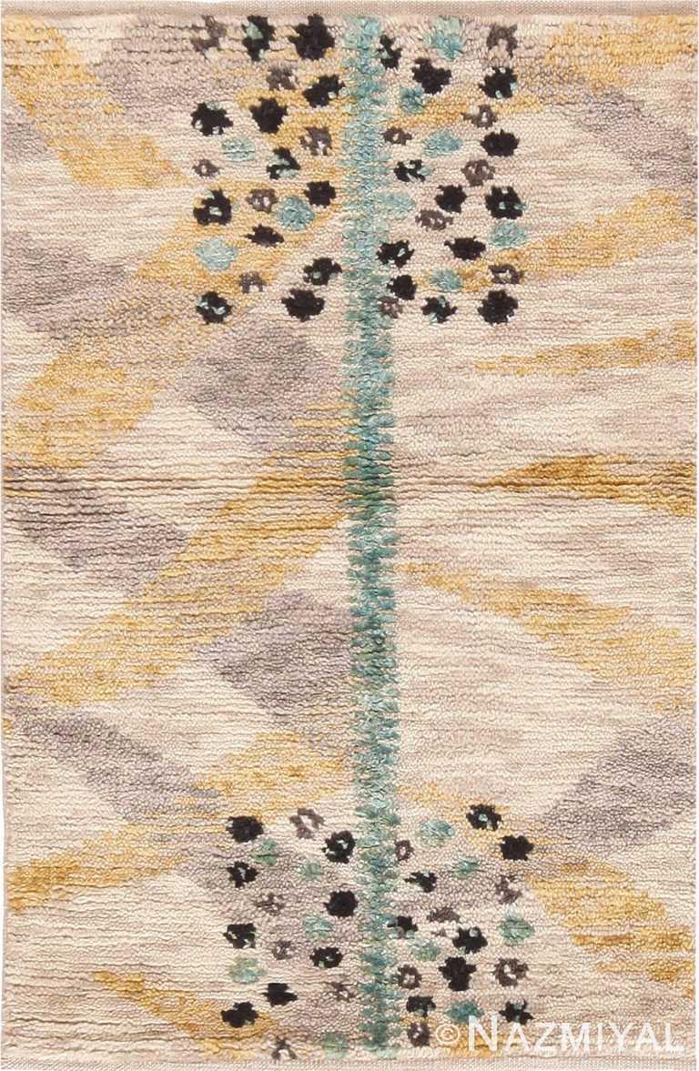 Modern Wool Pile Custom Scandinavian Rug Sample #50752 by Nazmiyal Antique Rugs
