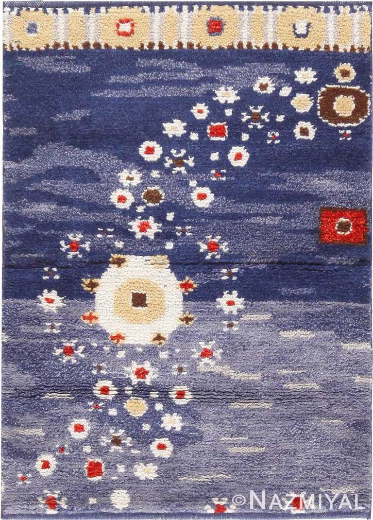 Modern Wool Pile Custom Scandinavian Rug Sample #50754 by Nazmiyal Antique Rugs