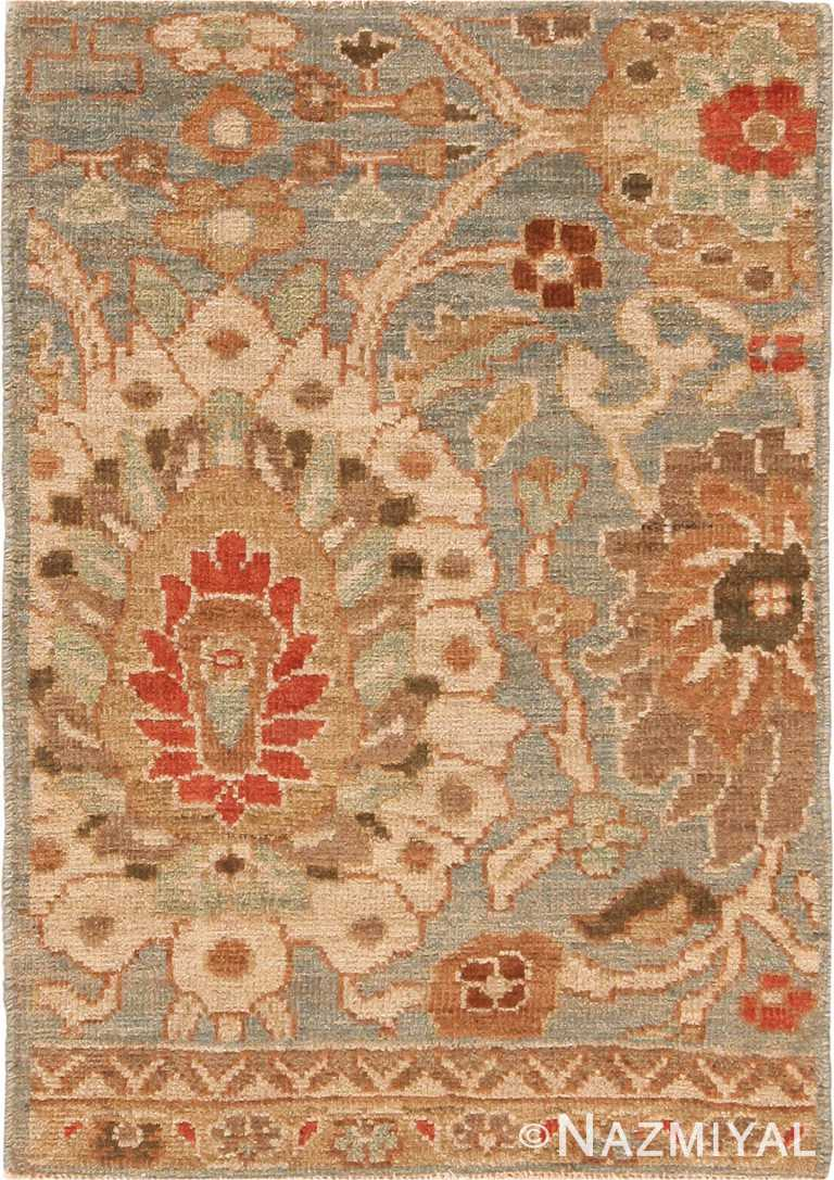 Bespoke Modern Persian Sultanabad Area Rug Sample 60563 by Nazmiyal Antique Rugs