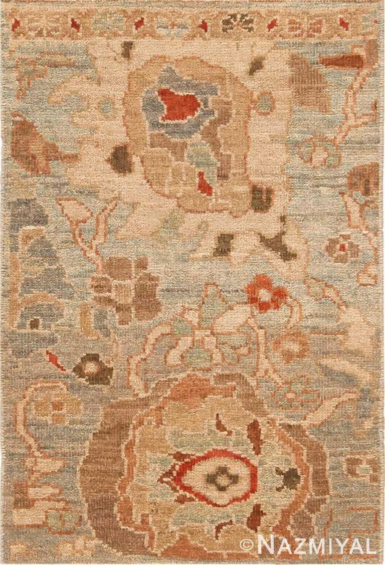 Custom Modern Bespoke Persian Sultanabad Rug Sample 60562 by Nazmiyal Antique Rugs