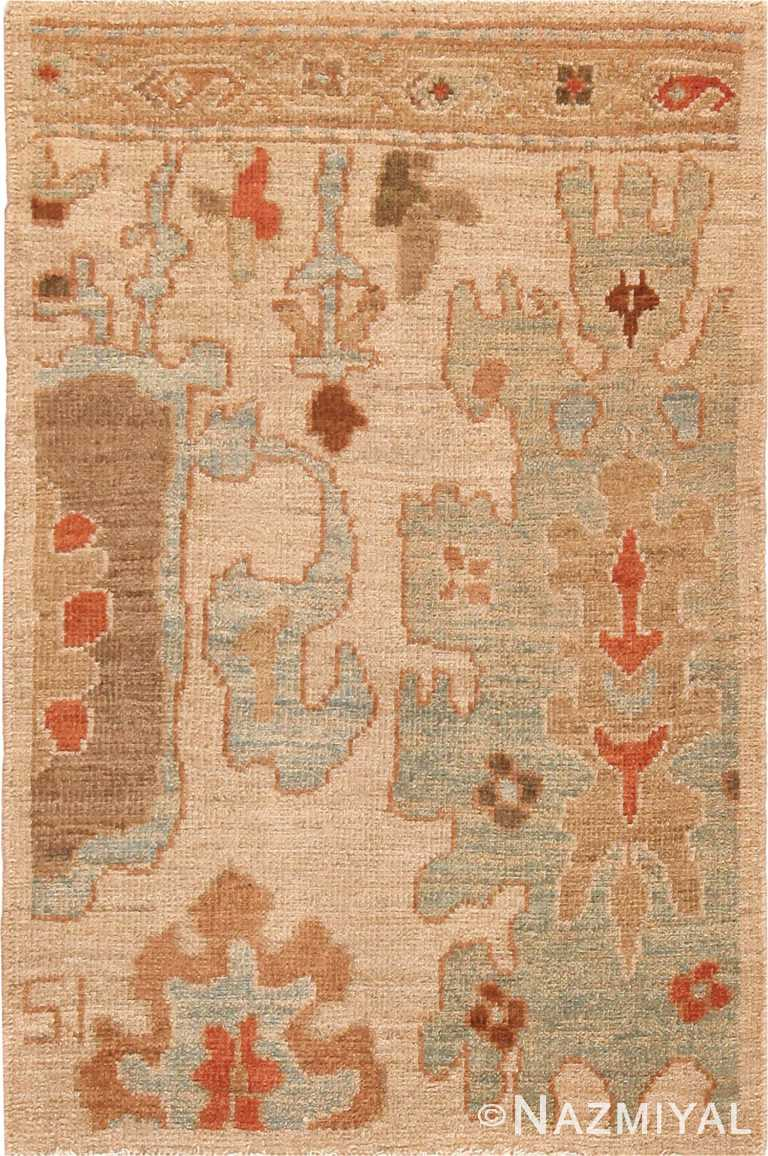 Custom Persian Sultanabad Modern Rug Sample #60561 by Nazmiyal Antique Rugs