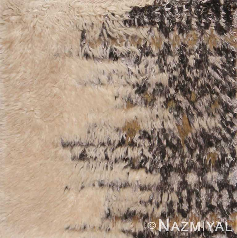 Modern Bespoke Custom Moroccan Rug Sample 60631 by Nazmiyal Antique Rugs
