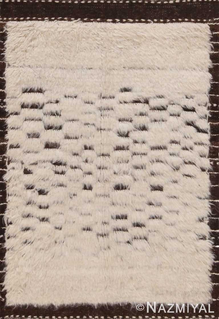 Modern Custom Checkerboard Bohemian Rug Sample 60639 by Nazmiyal Antique Rugs