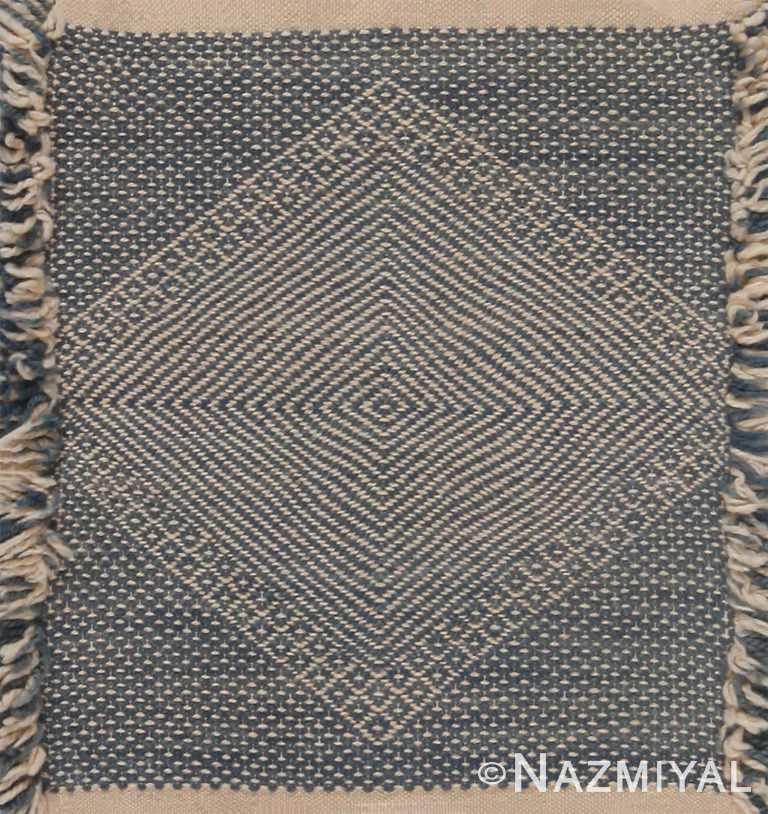 Modern Custom Flat Weave Moroccan Kilim Rug Sample 60623 by Nazmiyal Antique Rugs