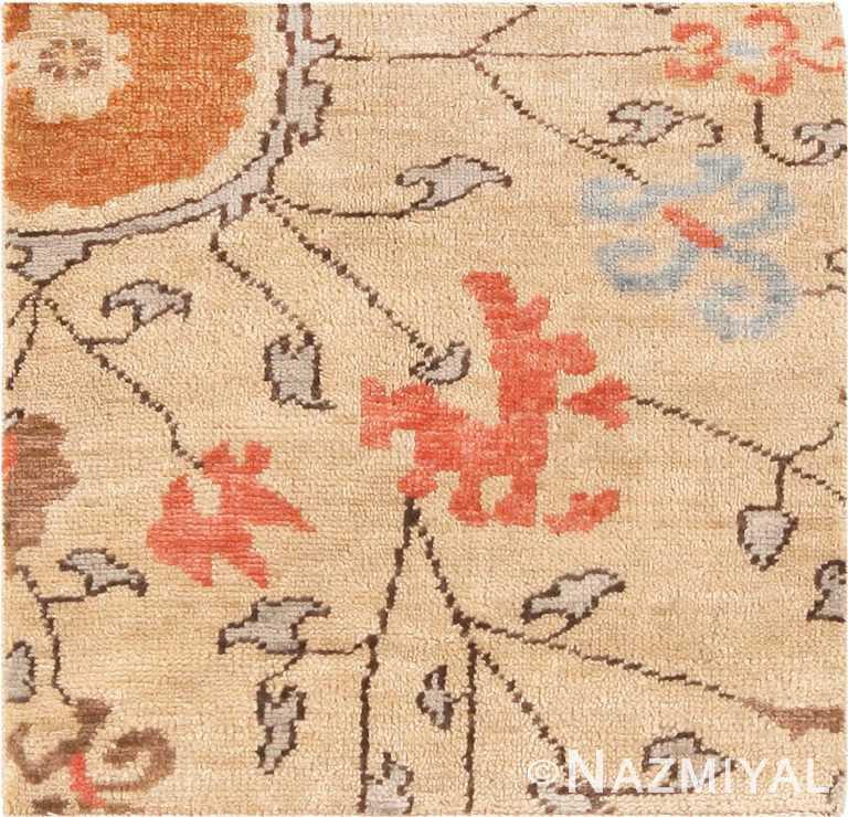 Modern Custom Khotan Rug Sample #60588 by Nazmiyal Antique Rugs