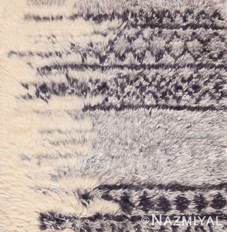 Modern Custom Moroccan Berber Rug Sample 60620 by Nazmiyal Antique Rugs