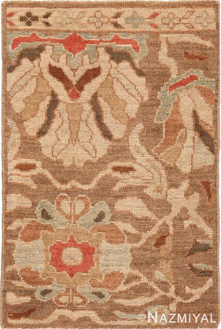Modern Custom Persian Sultanabad Bespoke Rug Sample 60564 by Nazmiyal Antique Rugs
