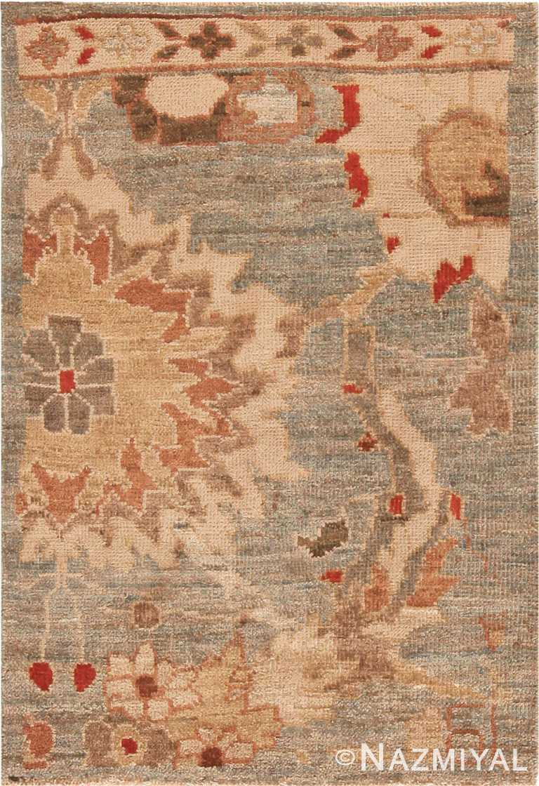 Modern Custom Persian Sultanabad Rug Sample 60556 by Nazmiyal Antique Rugs