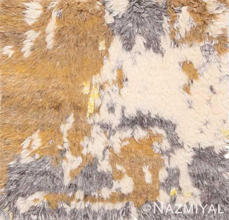 Modern Custom Soft Plush Wool Pile Moroccan Rug Sample 60652 by Nazmiyal Antique Rugs