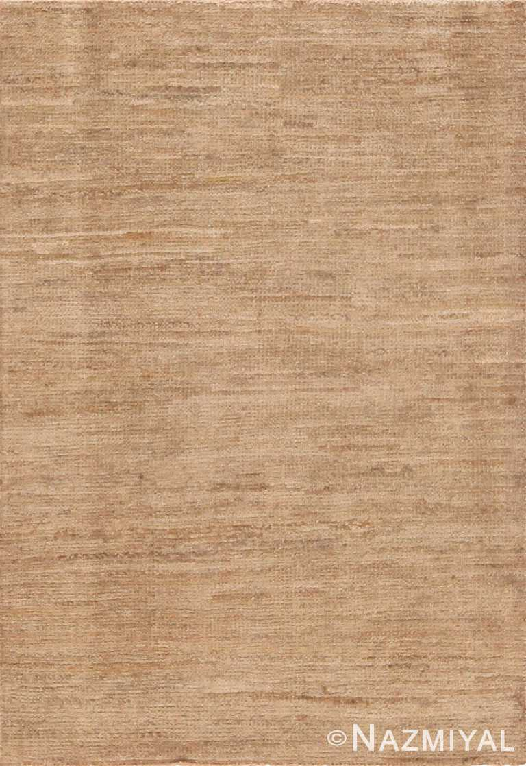 Modern Custom Solid Rug Sample 60566 by Nazmiyal Antique Rugs
