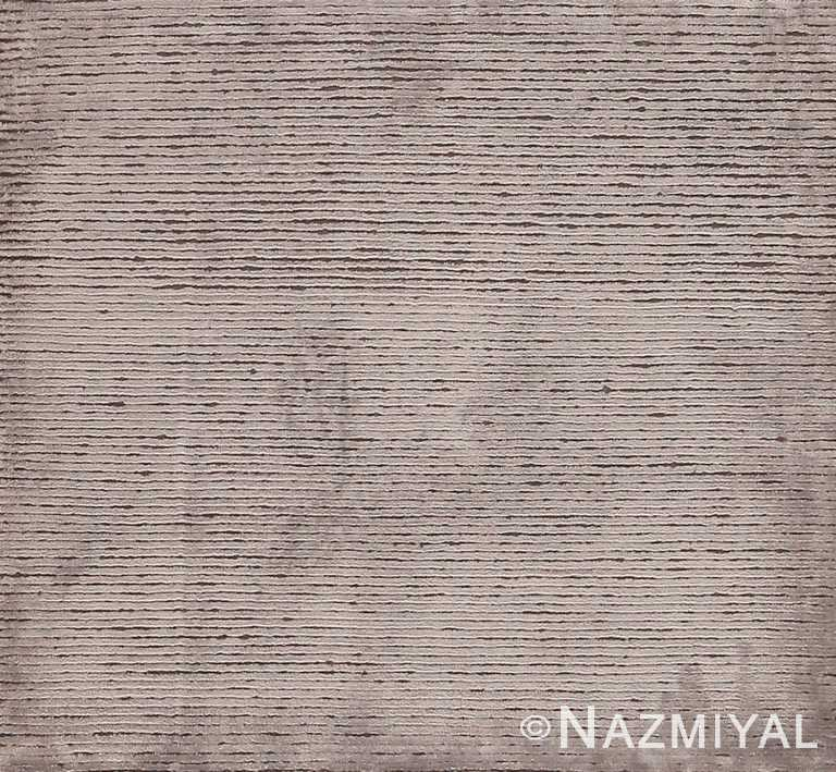 Modern Custom Textured Rug Sample #60604 by Nazmiyal Antique Rugs