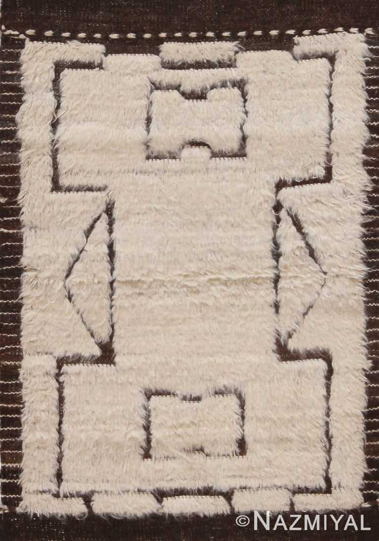 Modern Geometric Custom Bohemian Area Rug Sample 60641 by Nazmiyal Antique Rugs