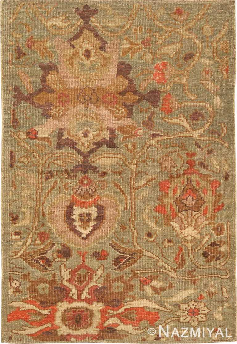 Modern Oriental Persian Custom Sultanabad Rug Sample 60583 by Nazmiyal Antique Rugs