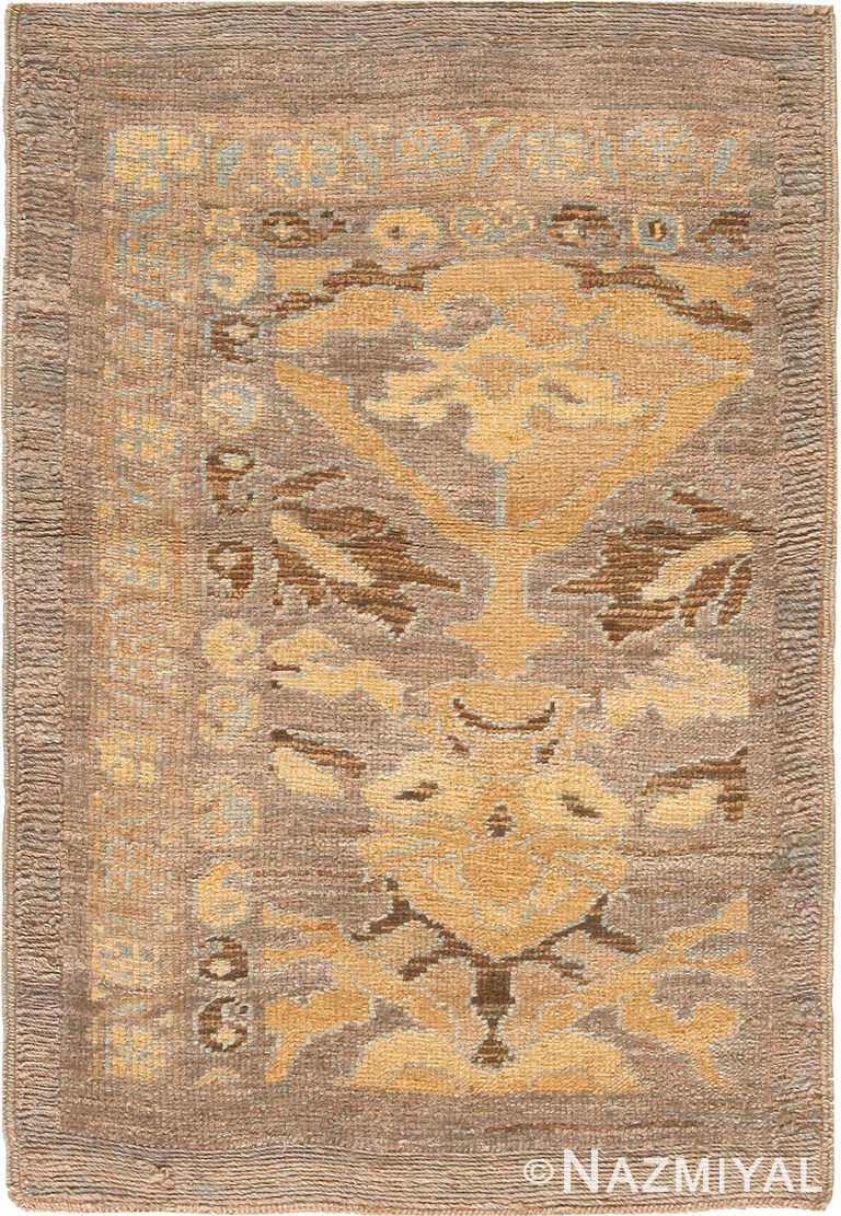 Modern Persian Sultanabad Area Rug Sample 60557 by Nazmiyal Antique Rugs