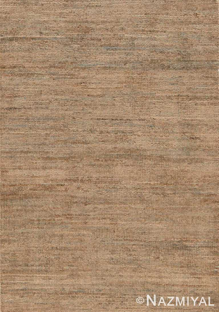 Modern Solid Custom Area Rug Sample 60569 by Nazmiyal Antique Rugs