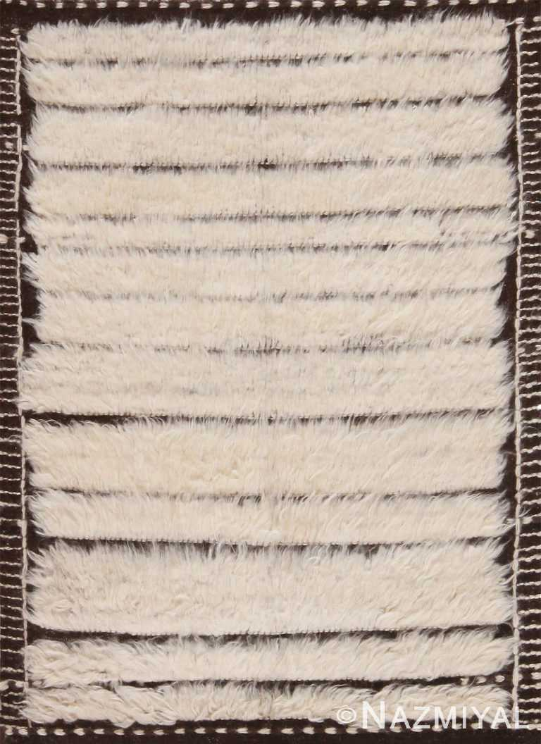 Plush Soft Custom Bespoke Bohemian Rug Sample 60637 by Nazmiyal Antique Rugs