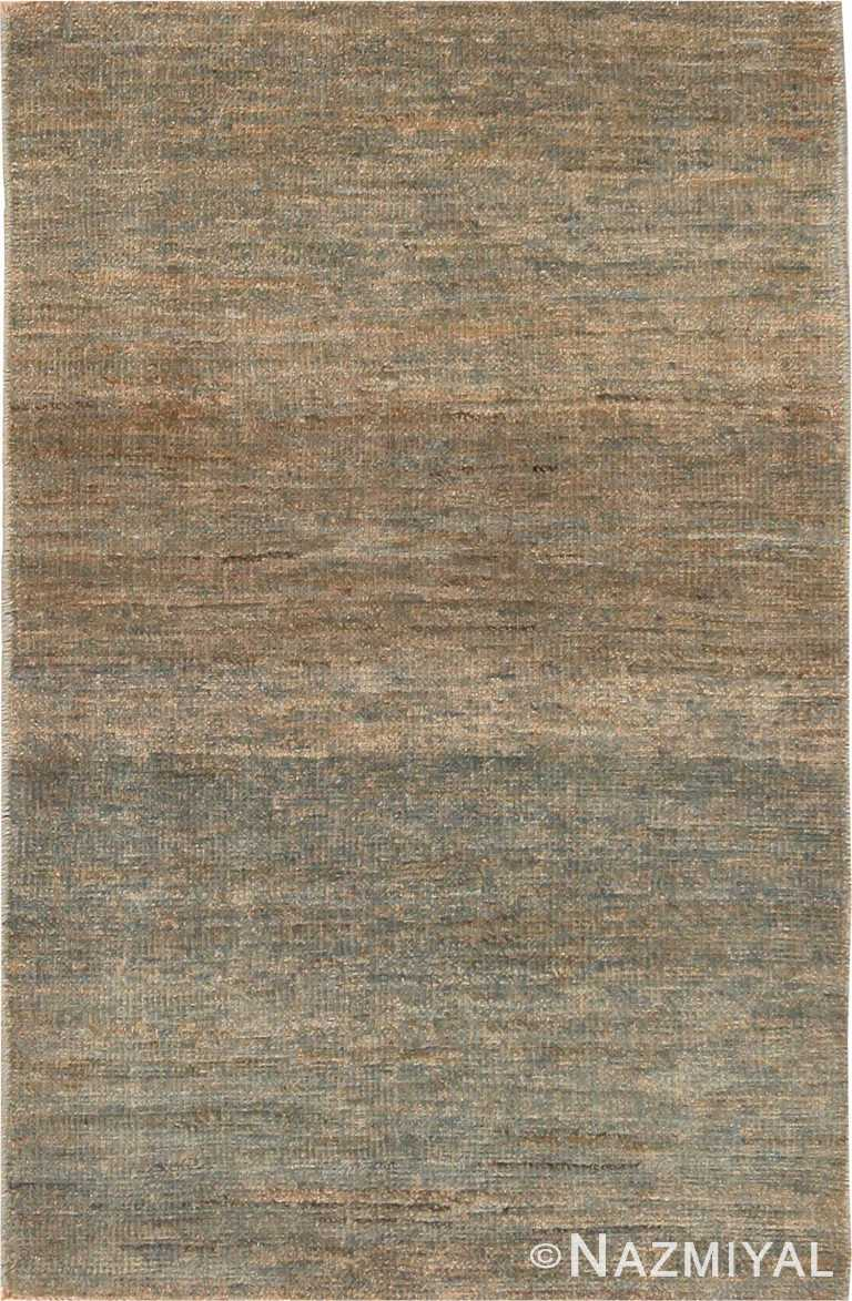 Solid Custom Modern Area Rug Sample 60565 by Nazmiyal Antique Rugs