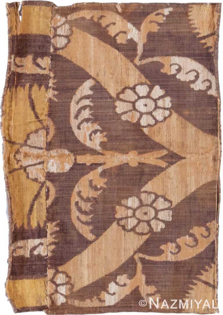 16th Century Antique Turkish Velvet Textile 70851 by Nazmiyal Antique Rugs