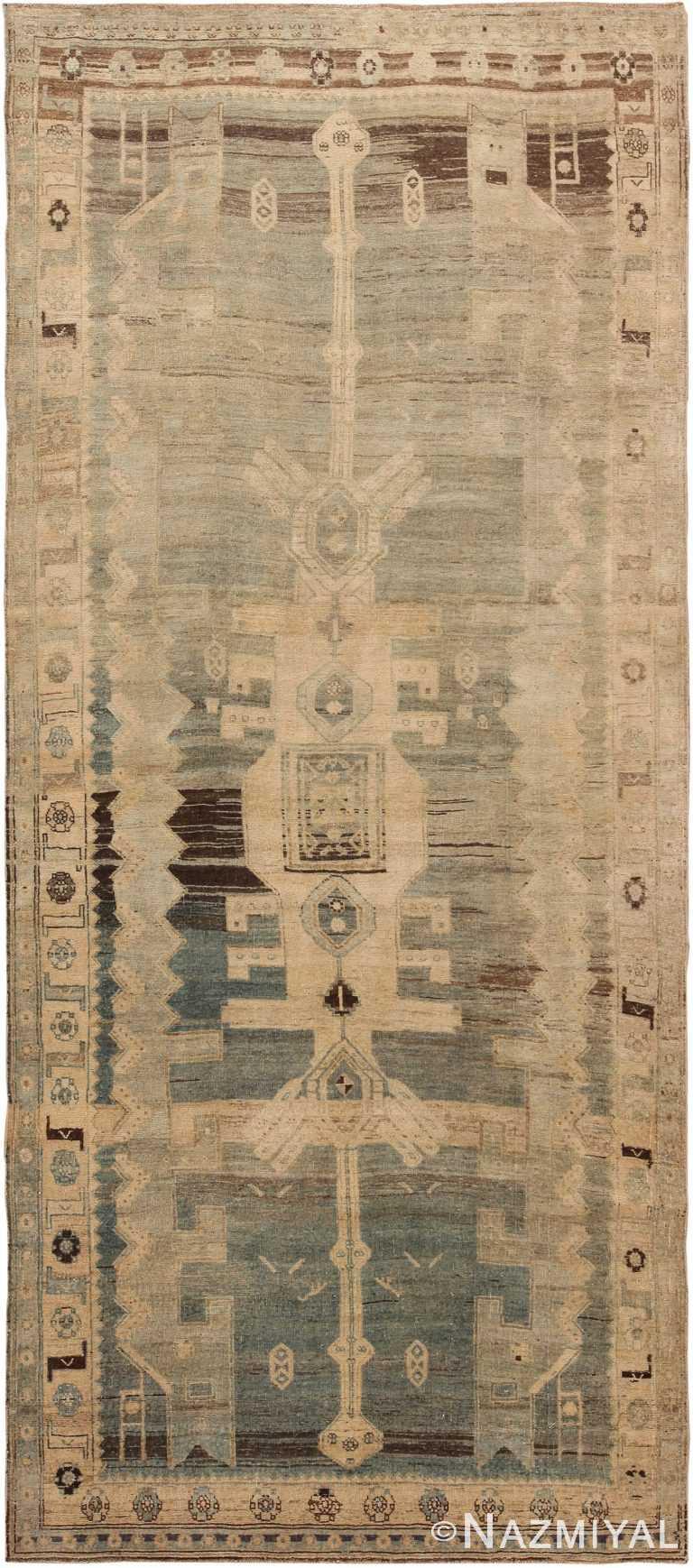 Antique Persian Bidjar Runner Rug 60526 by Nazmiyal Antique Rugs