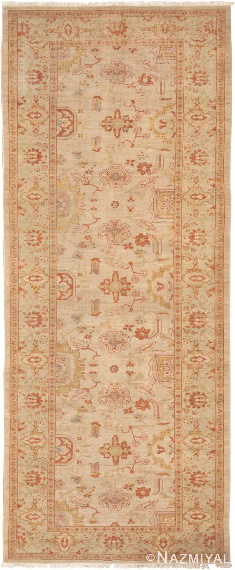 Gallery Size Decorative Vintage Persian Sultanabad Rug 41174 by Nazmiyal Antique Rugs