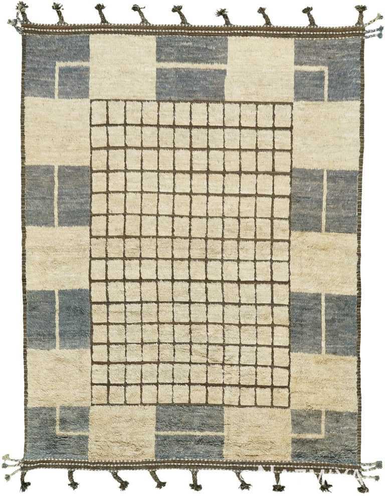 Geometric Design Modern Boho Chic Rug 60674 by Nazmiyal Antique Rugs