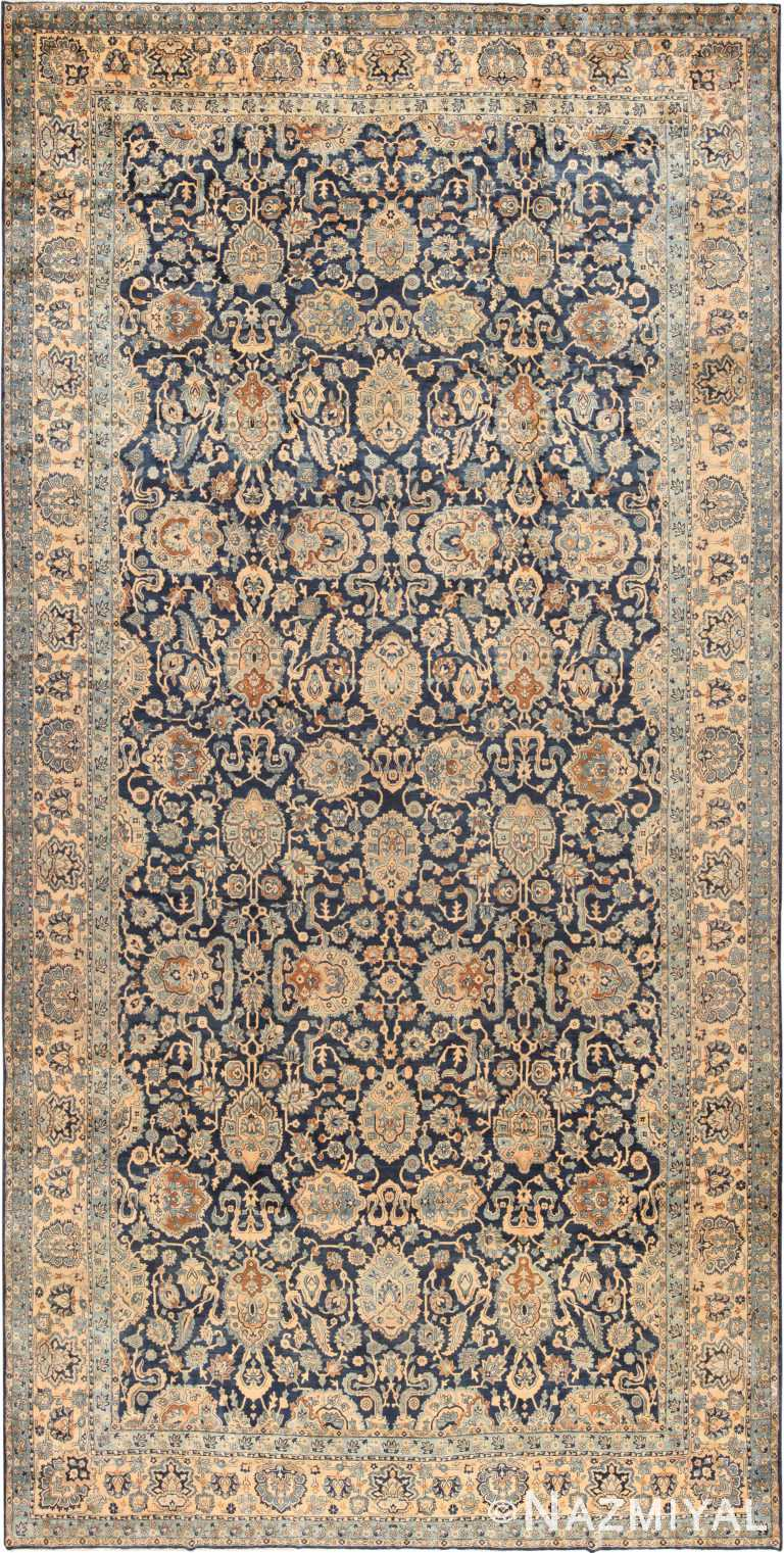 Oversized Antique Persian Kerman Rug 70932 by Nazmiyal Antique Rugs