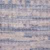 Silk And Wool Abstract Blue Modern Boutique Area Rug 60771 by Nazmiyal Antique Rugs