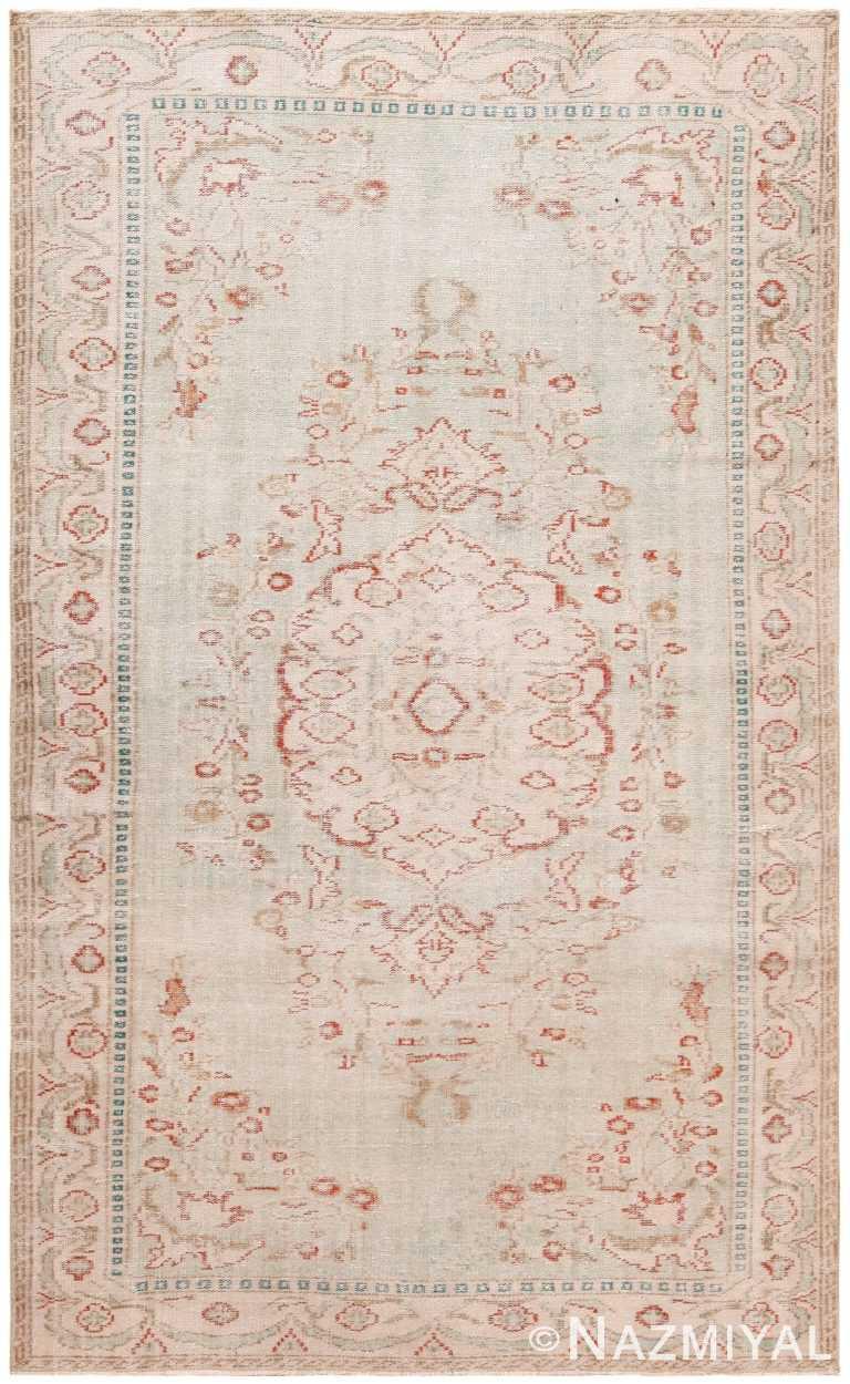 Decorative Antique Turkish Ghiordes Rug 70638 by Nazmiyal Antique Rugs