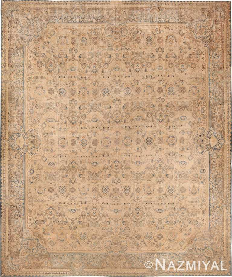 Oversized Antique Persian Kerman Area Rug 70935 by Nazmiyal Antique Rugs