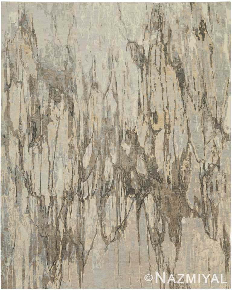 Earthy Tones Modern Boutique Rug 60738 by Nazmiyal Antique Rugs