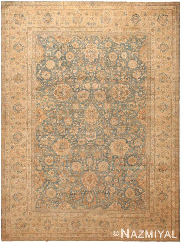 Large Antique Persian Kerman Area Rug 71041 by Nazmiyal Antique Rugs