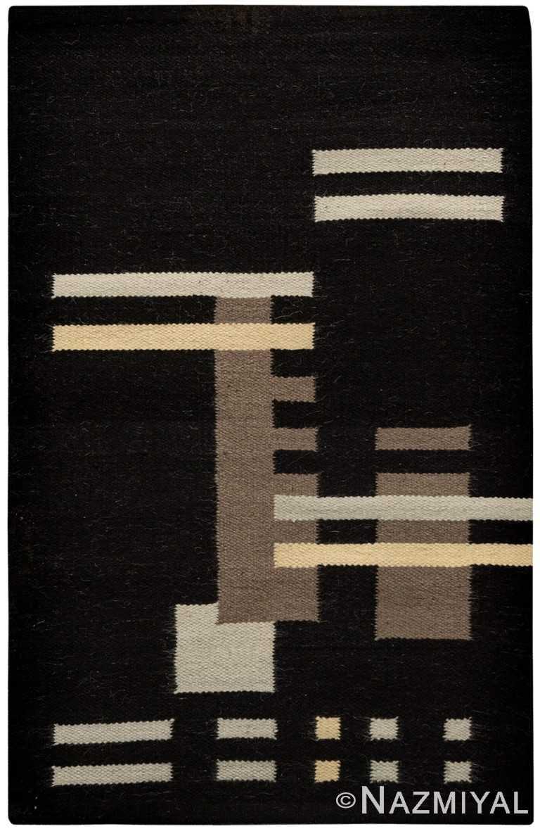 Rectangular Bauka Design Kilim Rug By Genaro Rivas 60868 by Nazmiyal Antique Rugs