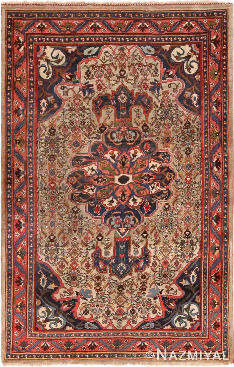 Antique Persian Bidjar Rug 71122 by Nazmiyal Antique Rugs