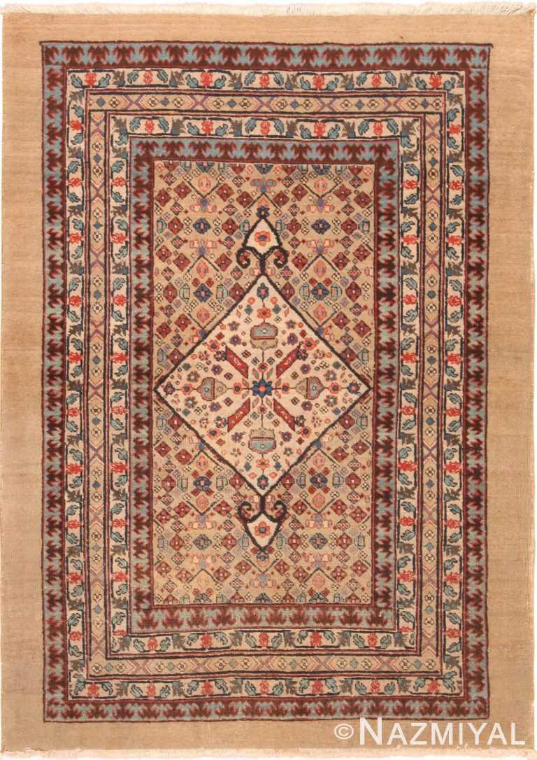 Tribal Antique Persian Bakshaish Rug 71125 by Nazmiyal Antique Rugs