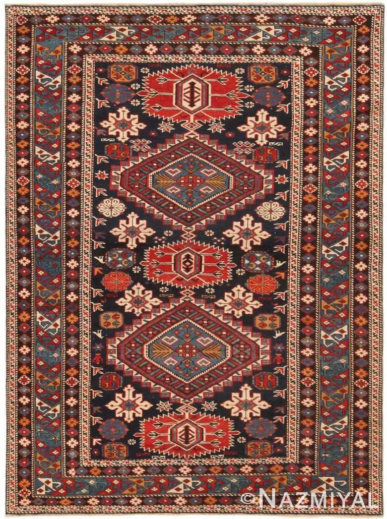 Magnificent Antique Caucasian Karakashly Rug 71159 by Nazmiyal Antique Rugs