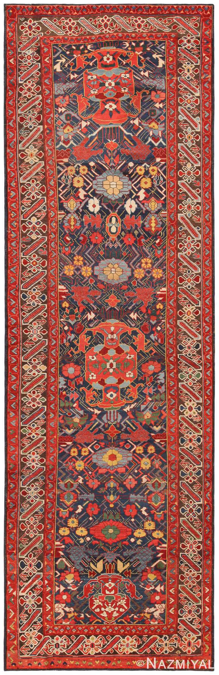 Marvelous Antique Caucasian Chi Chi Runner 71166 by Nazmiyal Antique Rugs